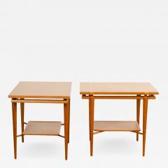 A pair of Mid Century Modern side tables designed by T H Robsjohn Gibbings  - 2060046