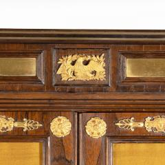 A pair of Regency brass inlaid rosewood side cabinets - 1849545