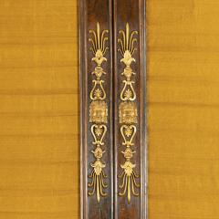 A pair of Regency brass inlaid rosewood side cabinets - 1849551