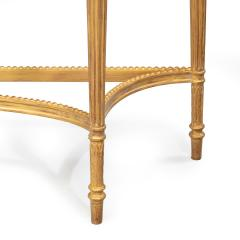A pair of Victorian Hepplewhite style satinwood console tables - 1514372