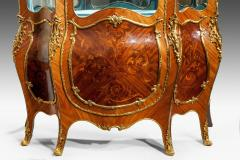 A pair of exhibition quality Napoleon III kingwood vitrines - 778778