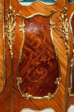 A pair of exhibition quality Napoleon III kingwood vitrines - 778782