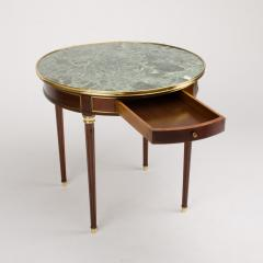 A pair of mahogany and brass gueridon tables Directoire style circa 1940 - 1646824