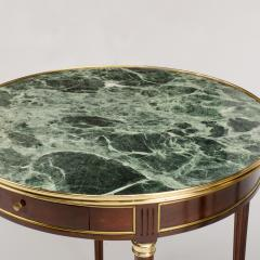 A pair of mahogany and brass gueridon tables Directoire style circa 1940 - 1646825
