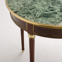 A pair of mahogany and brass gueridon tables Directoire style circa 1940 - 1646826