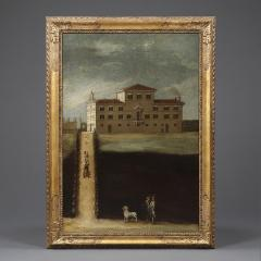 A pair of mid 18th century architectural Neapolitan views - 929370
