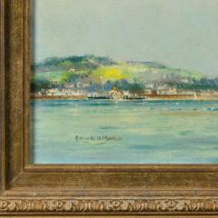 A pair of oil paintings of Clyde One Design yachts racing by Frank Henry Mason - 1838001