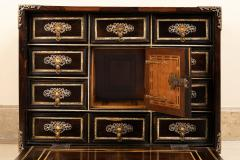 A palissander and ivory cabinet Italy17th century - 1838542