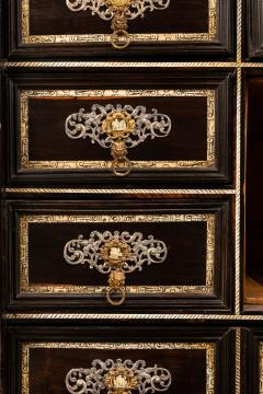 A palissander and ivory cabinet Italy17th century - 1838558