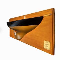 A presentation model of America s Cup winner America by G L Watson - 2134439