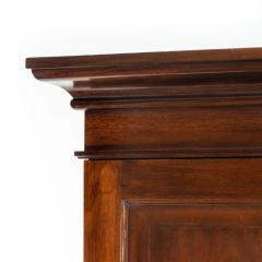 A rare Edwardian mahogany mechanical gentleman s wardrobe - 1176049