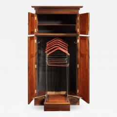 A rare Edwardian mahogany mechanical gentleman s wardrobe - 1176537