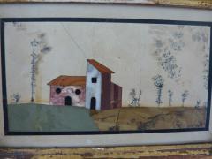 A rare pair of Italian pietra dura panels Tuscany 18th century - 1368838