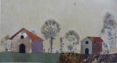 A rare pair of Italian pietra dura panels Tuscany 18th century - 1369180