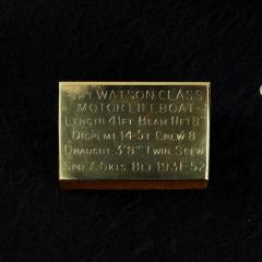 A scale model of a Watson class lifeboat circa 1931 - 2134400