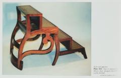 A set of Regency mahogany metamorphic library steps - 2012746