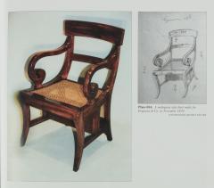 A set of Regency mahogany metamorphic library steps - 2012747