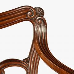 A set of Regency mahogany metamorphic library steps - 2012749