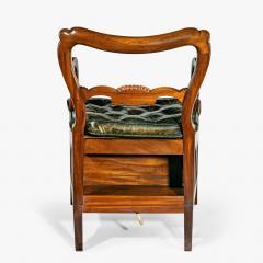 A set of Regency mahogany metamorphic library steps - 2012751
