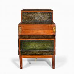A set of Regency mahogany metamorphic library steps - 2012753