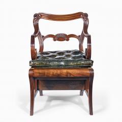 A set of Regency mahogany metamorphic library steps - 2012754