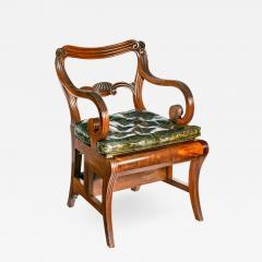 A set of Regency mahogany metamorphic library steps - 2013091