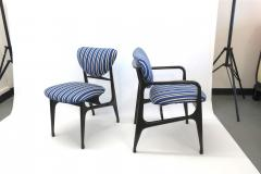 A set of Six side chairs Italian Mid century Style  - 1235119