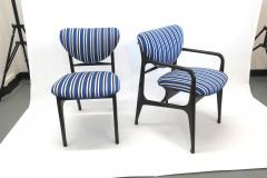 A set of Six side chairs Italian Mid century Style  - 1235120