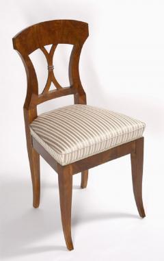A set of four Biedermeier side chairs - 1185411
