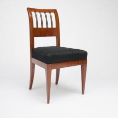 A set of four restored Biedermeier chairs mahogany circa 1840 - 1646996