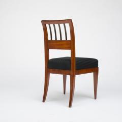 A set of four restored Biedermeier chairs mahogany circa 1840 - 1646998