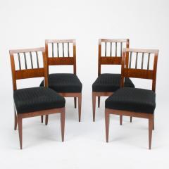 A set of four restored Biedermeier chairs mahogany circa 1840 - 1646999