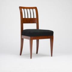 A set of four restored Biedermeier chairs mahogany circa 1840 - 1647000