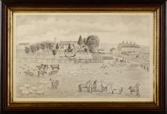 A signed Portrait of a Doylestown Ohio Farm by Edward Lewis Ott - 1571036