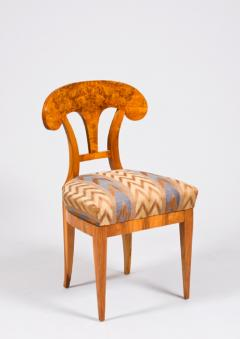 A single Biedermeier side chair - 1280829