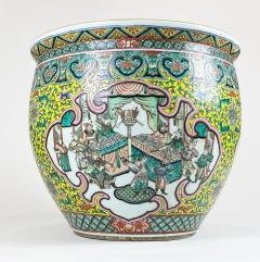 A spectacular 19th Century Chinese porcelain fish bowl - 1779360