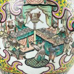 A spectacular 19th Century Chinese porcelain fish bowl - 1779367
