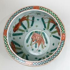 A spectacular 19th Century Chinese porcelain fish bowl - 1779369