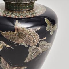 A stunning pair of Japanese Cloisonn vases - 1269862
