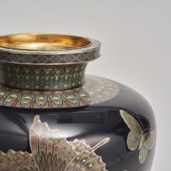 A stunning pair of Japanese Cloisonn vases - 1269863