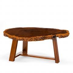 A stylish polished Amboyna Coffee Table - 816900