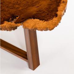 A stylish polished Amboyna Coffee Table - 816903