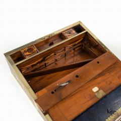 A superb William IV brass inlaid kingwood writing box by Edwards - 1707010