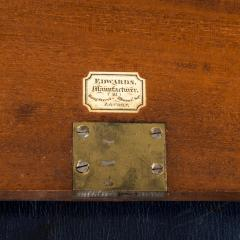 A superb William IV brass inlaid kingwood writing box by Edwards - 1707015
