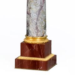 A very fine pair of antique Napoleon III marble classical columns - 822866