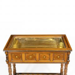A walnut side table jardini re by Gillows probably after Augustus Pugin - 1053352