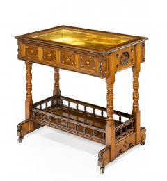A walnut side table jardini re by Gillows probably after Augustus Pugin - 1053357