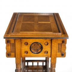 A walnut side table jardini re by Gillows probably after Augustus Pugin - 1053361