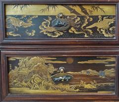 A wonderful Japanese late 19th Century cabinet - 1811001