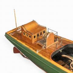 A working model of a steam launch Circa 1920 - 2134418